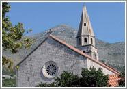 Samostan i crkva sv. Jeronima u Slanomu
