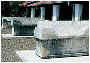 Lapidarij u vrtu Franjevačkog samostana u Slanomu