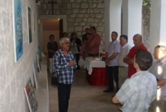 Exibition of the Association of art colony Trnovica