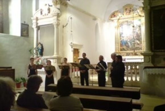 Enemble Trecanum in St. Jeronim Church in Slano