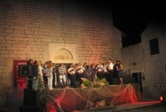Evening of Dalmatian songs in Slano