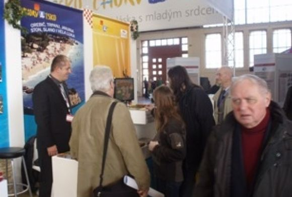 Tourist board of Dubrovačko primorje presented the region on tourist fair in Prag